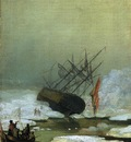 FRIEDRICH Caspar David Wreck By The Sea