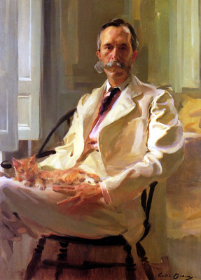Man with the Cat