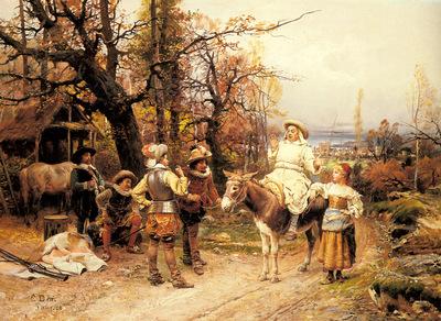 Detti Cesare Auguste A Halt Along The Way