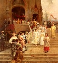 Detti Cesare Auguste The Confirmation Procession