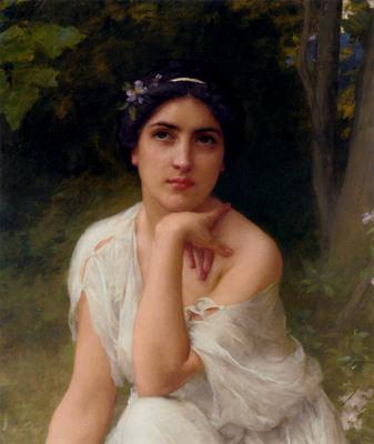 Lenoir Charles Amable Pensive