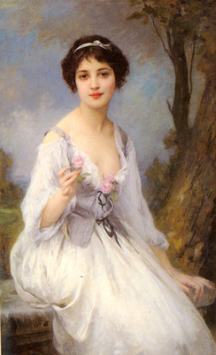 Lenoir Charles Amable The Pink Rose