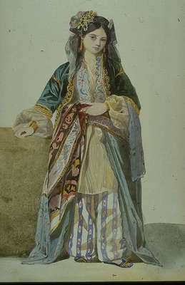 Gleyre Charles Turkish Woman Annetta Smyrna