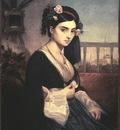 Gleyre Charles Oriental Lady