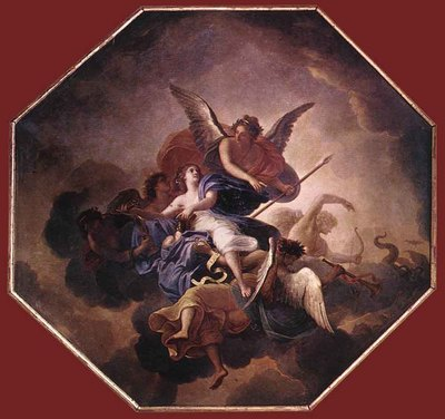 LE BRUN Charles The Triumph Of Faith