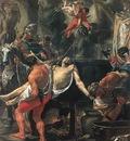 LE BRUN Charles Martyrdom Of St John The Evangelist At Porta Latina