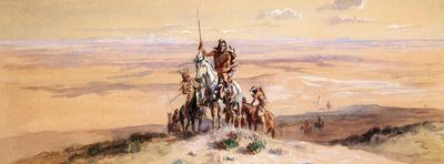 Russell Charles Marion Indians on Plains