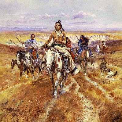 Russell Charles Marion When the Plains Were His