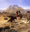 Russell Charles Marion Capturing the Grizzly