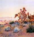 Russell Charles Marion Mexican Buffalo Hunters