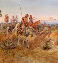 Russell Charles Marion Navajo Trackers