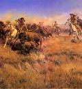 Russell Charles Marion Running Buffalo