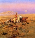 Russell Charles Marion The Horse Thieves