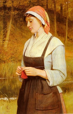 Lidderdale Charles Sillem Knitting