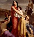 Landelle Charles Les Femmes de Jerusalem captives a Babylone