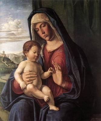 CIMA da Conegliano Madonna And Child
