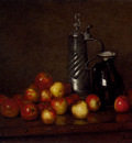 Bail Joseph Apples With A Tankard And Jug