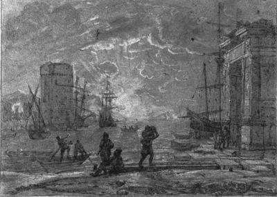 Harbour Scene WGA