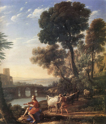 Landscape with Apollo Guarding the Herds of Admetus WGA