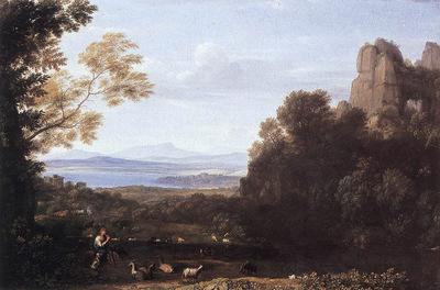 Landscape with Apollo and Mercury WGA