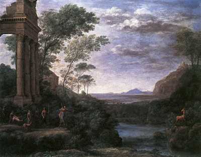 Landscape with Ascanius Shooting the Stag of Sylvia WGA