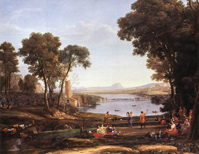 Landscape with Dancing Figures WGA