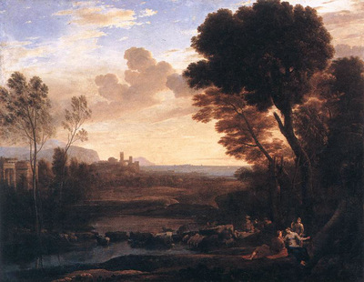 Landscape with Paris and Oenone WGA