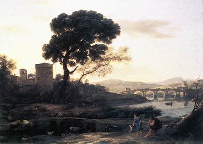 Landscape with Shepherds The Pont Molle WGA