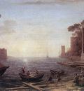 A Seaport at Sunrise WGA