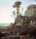 Apollo and the Muses on Mount Helion Parnassus WGA