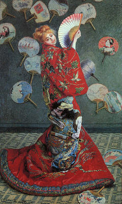 La Japonaise Camille Monet in Japanese Costume CGF