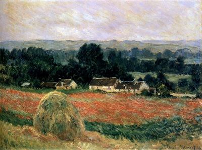 monet haystack at giverny