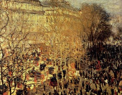 Monet Boulevard Des Capucines