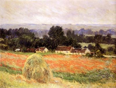 Monet Claude Haystack At Giverny