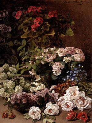 Monet Claude Spring Flowers