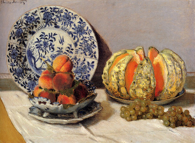 Monet Claude Still Life With Melon