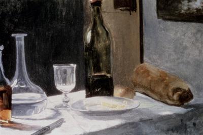Monet Still Life With Bottles