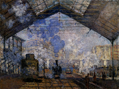 monet the gare saint lazare