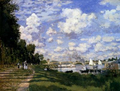 Monet The Marina At Argenteuil