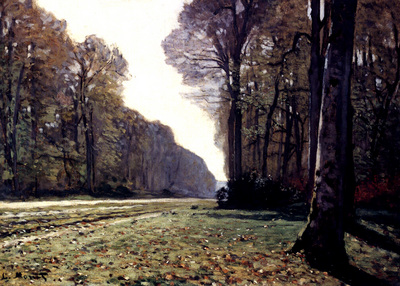 Monet The Road To Chailly