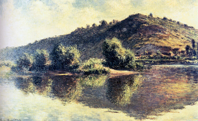 monet the seine at port villez