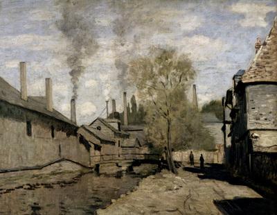 Monet The Stream Of Robec Rouen