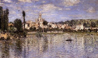 Monet Vetheuil In Summer