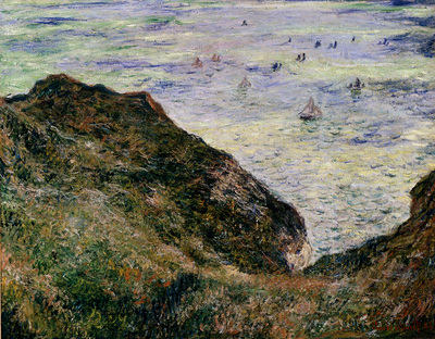 Monet View Over The Sea