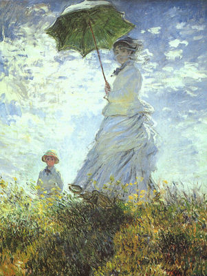 Woman with a Parasol CGF