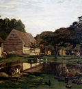 Monet A Farmyard In Normandy
