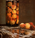 Monet Claude Jar Of Peaches