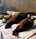 Monet Claude Pheasants And Plovers