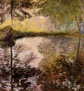 Monet Claude Pond At Montgeron