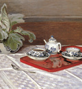 Monet Claude The Tea Set